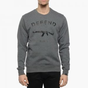 Defend Paris Defend Paris Crew Grey