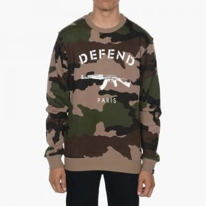 Defend Paris Paris Crewneck