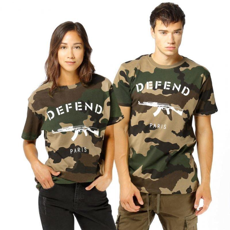 Defend Paris Paris -t-paita