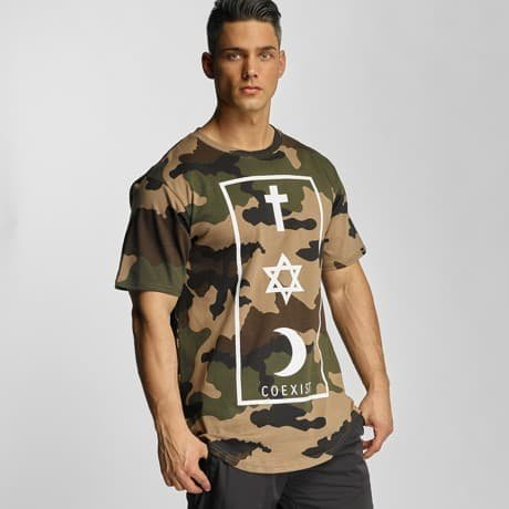 Defend Paris T-paita Camouflage