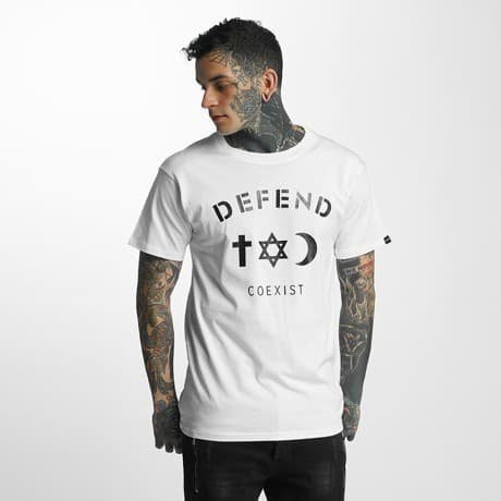 Defend Paris T-paita Valkoinen