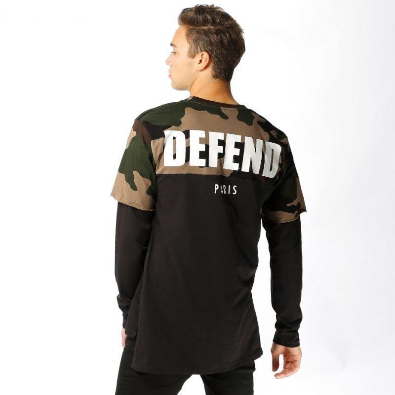 Defend Paris Zack -longsleeve