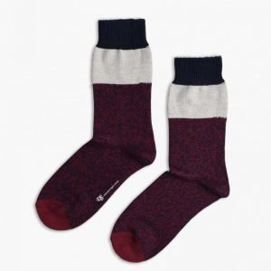 Democratique Socks Relax Block Knitted Socks