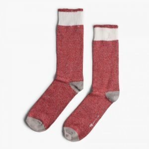 Democratique Socks Relax Melange Contrast Socks