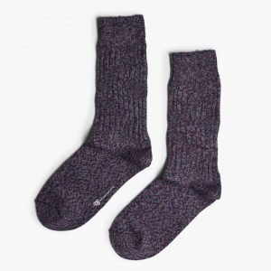 Democratique Socks Relax ZigZag Knitted Socks