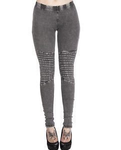 Denim Jersey Leggings