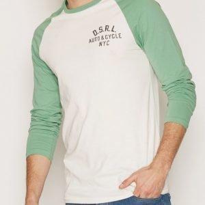 Denim & Supply Ralph Lauren Baseball Long Sleeve T-shirt Pusero Antique