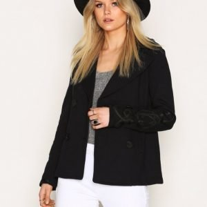 Denim & Supply Ralph Lauren Bohemian Freterry Coat Jakku Navy