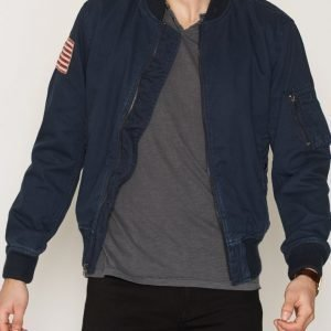 Denim & Supply Ralph Lauren Bomber Lined Jacket Takki Navy