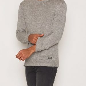 Denim & Supply Ralph Lauren Crew Neck Long Sleeve Sweater Pusero Grey