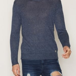 Denim & Supply Ralph Lauren Crew Neck Long Sleeve Sweater Pusero Indigo