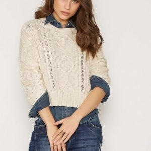 Denim & Supply Ralph Lauren Crewneck Sweater Neulepusero Cream