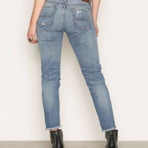 Denim & Supply Ralph Lauren Crop Skinny 5pt Denim Jeans Farkut Denim