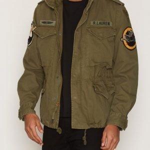 Denim & Supply Ralph Lauren Field Cotton Jacket Takki Army Green