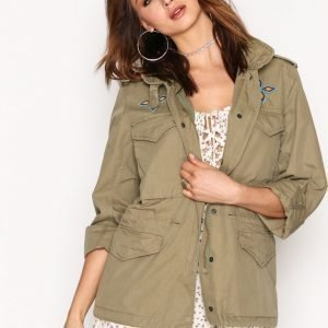 Denim & Supply Ralph Lauren Field Unlined Jacket Parkatakki Olive