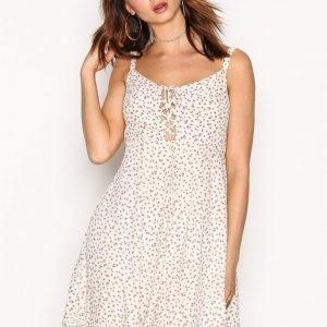 Denim & Supply Ralph Lauren Flirty Sun Short Sleeve D Loose Fit Mekko Cream / Multi