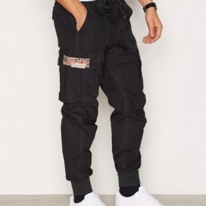 Denim & Supply Ralph Lauren Jogger Cargo 32 Housut Black