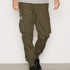 Denim & Supply Ralph Lauren Jogger Cargo 32 Housut Olive