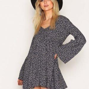 Denim & Supply Ralph Lauren Julia Empire Long Sleeve Dress Skater Mekko Floral