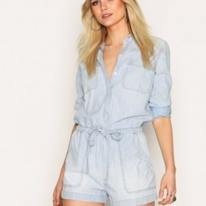Denim & Supply Ralph Lauren Lake Front Romper Playsuit Indigo