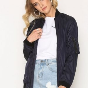 Denim & Supply Ralph Lauren Ma1 Bomber Jacket Takki Navy