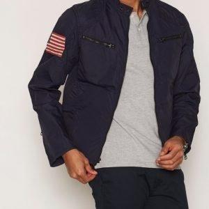 Denim & Supply Ralph Lauren Motorcycle Unlined Jacket Takki Navy