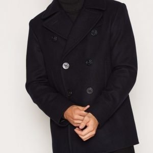 Denim & Supply Ralph Lauren Peacoat Wool Melton Takki Navy