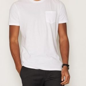 Denim & Supply Ralph Lauren Pocket Crew Short Sleeve T-shirt T-paita White