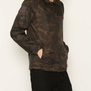 Denim & Supply Ralph Lauren Prnt Windbrk lined Jacket Takki Camo