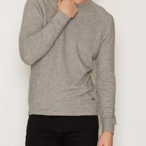 Denim & Supply Ralph Lauren Raglan Crew Long Sleeve Knit Pusero Heather