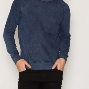 Denim & Supply Ralph Lauren Raglan Crew Long Sleeve Knit Pusero Indigo