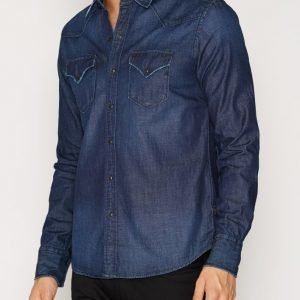 Denim & Supply Ralph Lauren Sawtooth Wes Kauluspaita Denim