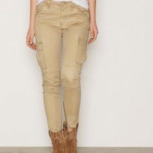 Denim & Supply Ralph Lauren Skinny Cargo Pant Housut Tan