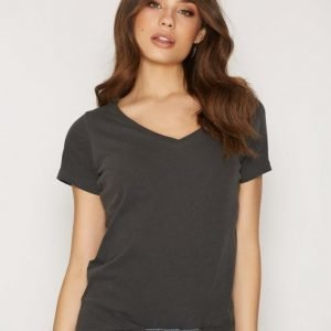 Denim & Supply Ralph Lauren V-Neck Tee Short Sleeve T-Paita Black