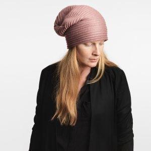 Design House Stockholm Pleece Beanie Myssy Vaaleanpunainen