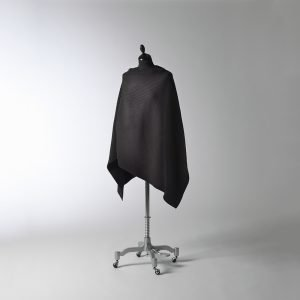 Design House Stockholm Pleece Poncho New Musta