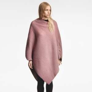 Design House Stockholm Pleece Poncho New Vaaleanpunainen