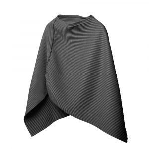 Design House Stockholm Pleece Poncho Small Tummanharmaa
