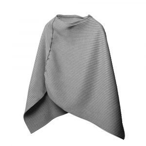 Design House Stockholm Pleece Poncho Small Vaaleanharmaa