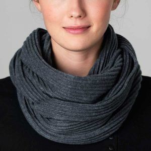 Design House Stockholm Pleece Snood Kaulahuivi Tummanharmaa