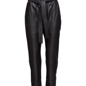 Designers Remix Erin Belt Pants Lb suorat housut