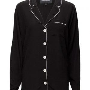 Designers Remix Mila Pyjama Shirt pitkähihainen pusero