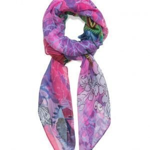 Desigual Accessories Foulard Rectangle Boho Mix huivi