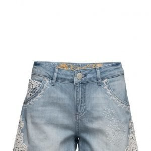 Desigual Denim Light Wash farkkushortsit