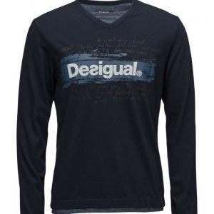 Desigual Ts Branding Letts pitkähihainen t-paita