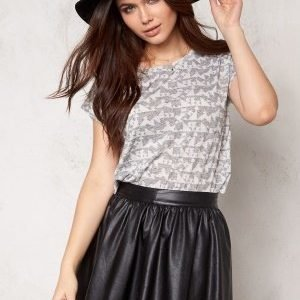 Desires Tag T-shirt 2890 Dark Grey