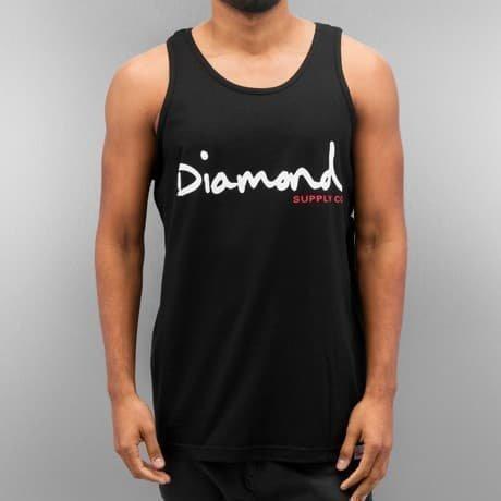 Diamond Hihaton Paita Musta