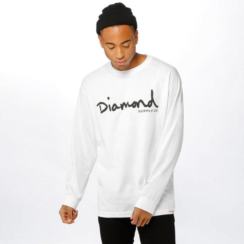 Diamond OG Script -longsleeve