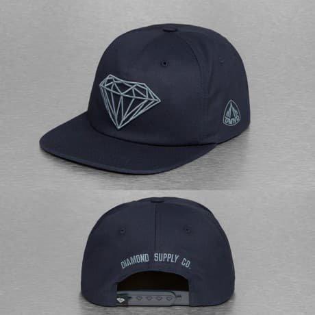 Diamond Snapback Lippis Sininen