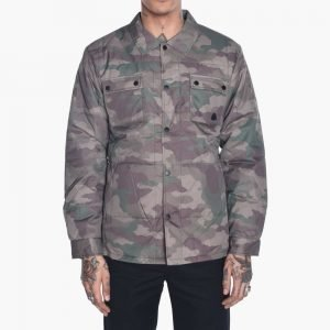 Diamond Supply Co. Puffer Shirt Jacket